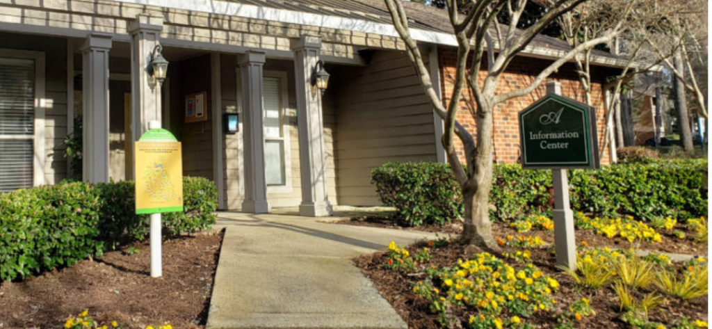 Ashbrook Apartments in Carrboro, NC offers 1 and 2 bedroom apartments with private balconies and patios. The community is set in a picturesque wooded area that's still convenient to UNC and the Research Triangle.