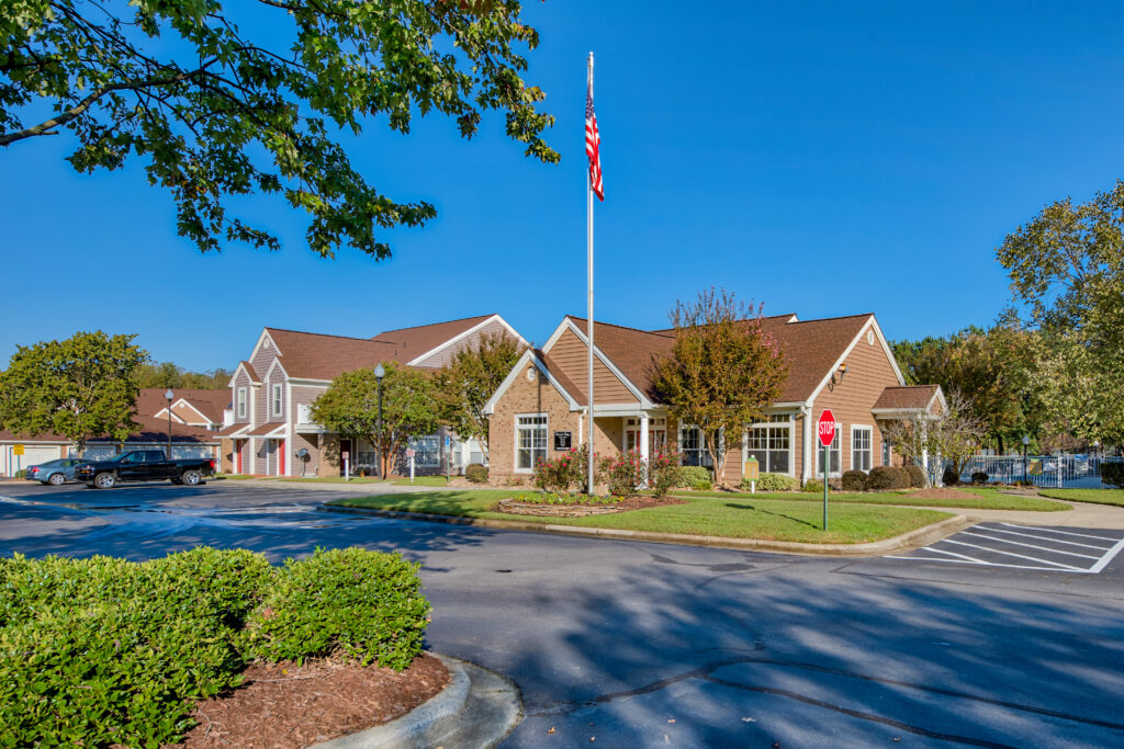 Parkside Village Apartments in Clayton, NC offers 1, 2, and 3 bedroom apartments near the Raleigh metropolitan area. Parkside is adjacent to the 42-acre Clayton Community Park that features tennis courts, baseball diamonds, and nature trails.